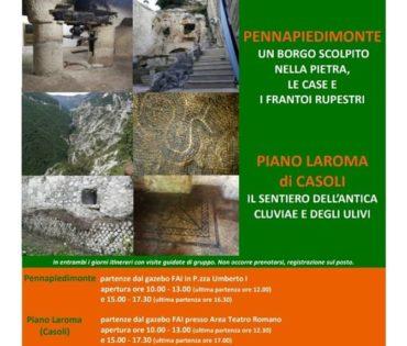 13-14 ottobre 2018 – Giornata FAI a Pennapiedimonte